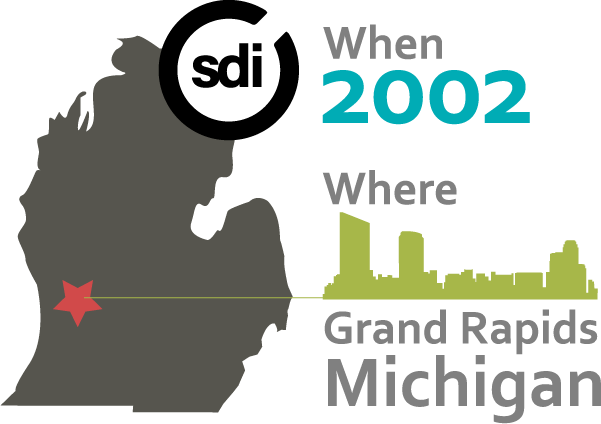 SDI Founded in 2002, Grand Rapids, Michigan