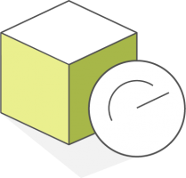 cube with optimized gauge