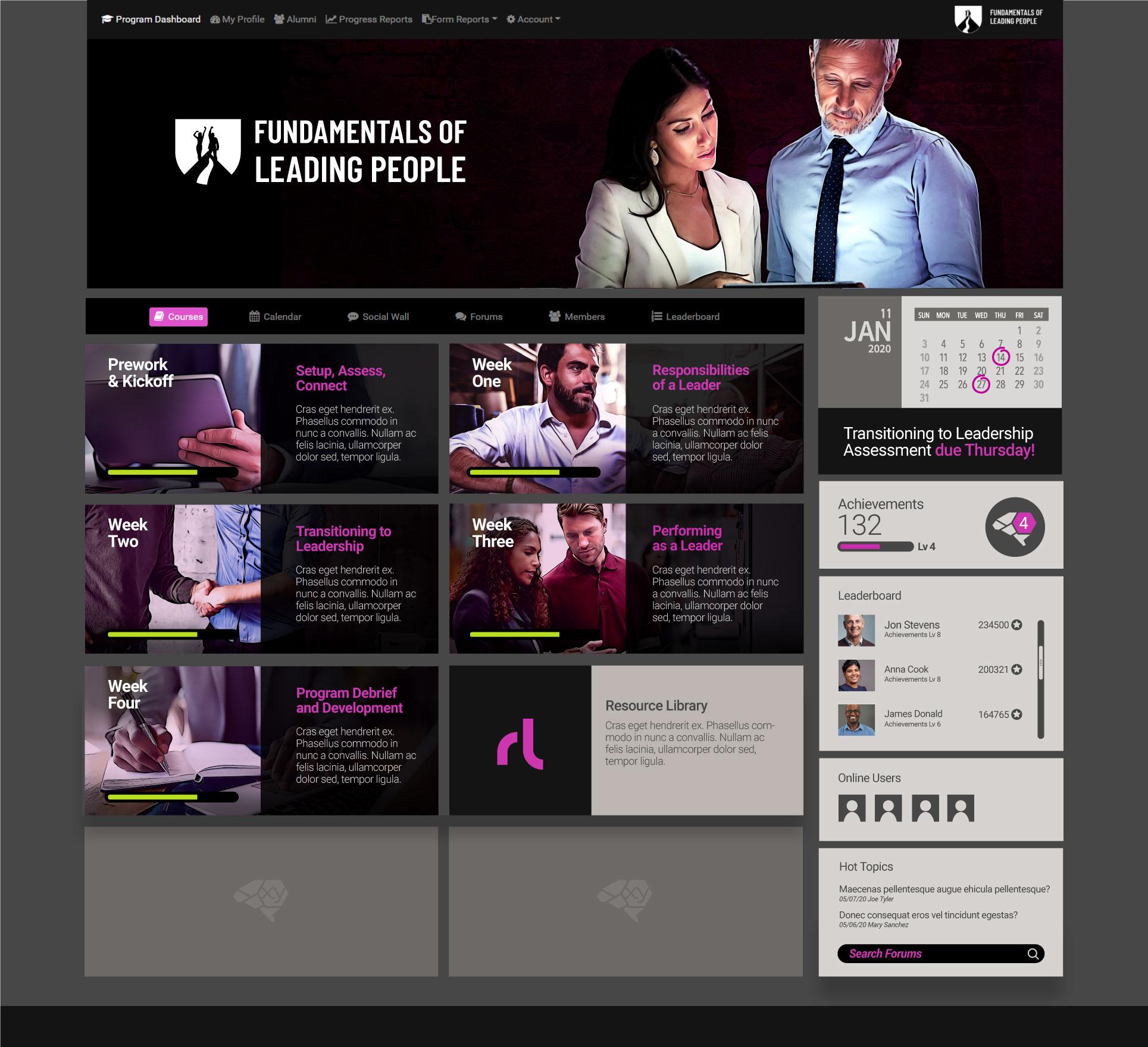 Fundamentals of Leadership Portal